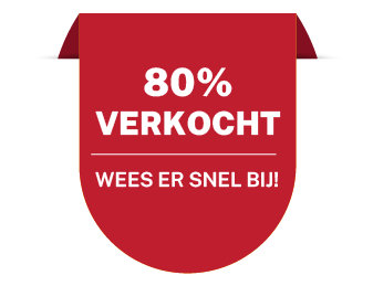 80%verkocht